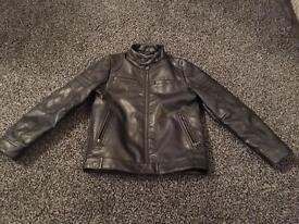 Boys 7 years Next leather look jacket
