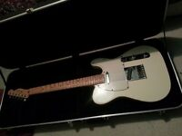 Fender Telecaster (MiM 2005-2006) £325 o.n.o - includes hard case, strap, wall hanger and lead