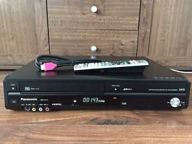 PANASONIC DMR-EZ47V DVD Recorder and VCR Recorder combo FREEVIEW