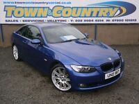 ***2008 BMW 3 Series 320D SE COUPE **FULL SERVICE HISTORY**( golf leon 320 325 330 5 series sport )