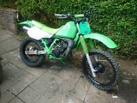 Kawasaki kmx 125 field bike motocross