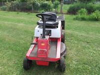 Lawnflite 8hp 30'' cut ride on mower with grass box