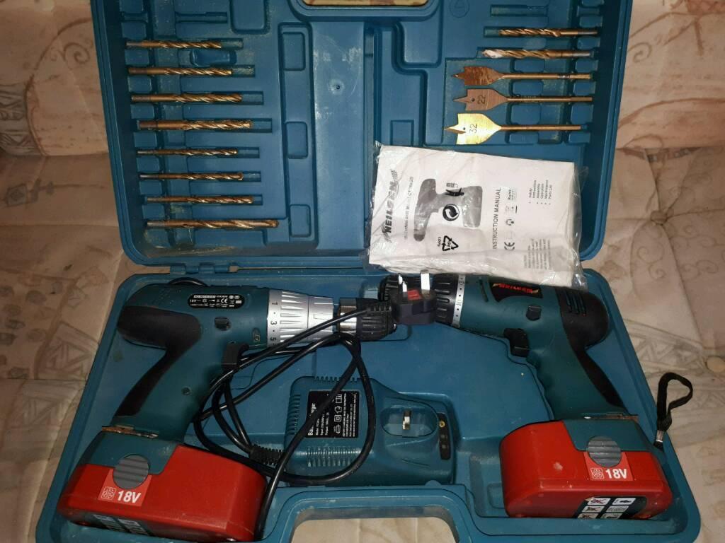 Drill/driver set