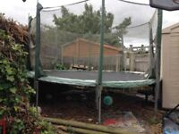 12FT TRAMPOLINE - HARDLY USED -NR WORCESTER PARK, KINGSTON, SUTTON