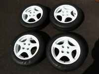 Aftermarket 14 Inch Set of Four Alloy Wheels