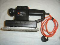BLACK AND DECKER JIGSAW AND SANDER