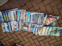 CRICKET MAGAZINES LARGE BUNDLE = 20P EACH ** CHRISTMAS PRESENT **