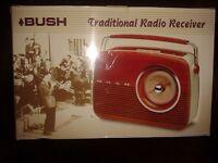 Radio: Bush Traditional wood effect TR82