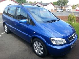 2005 vauxhall zafera breeze. 1.6 petrol . 7 seats