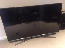 Broken Samsung smart tv screen