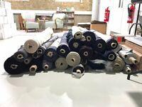 Rolls of Fabric Individual or Bulk Sale!