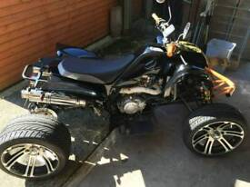 250cc ROAD LEGAL QUAD BIKE ONLY 900 MILES FROM NEW!!!