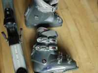 Nordica ski boots, size 24/24.5 (shoe size 5 to 5.5)