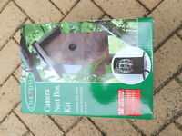 Oakdale Bird Camera nest box and microphone for sound