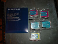 Compatible ink cartridges for use with Epson Stylus Photo Printer M.Y.C.LM.LC