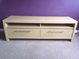 Next T.V unit with drawers-Beech