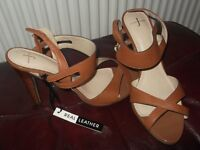 BNWT - Jasper Conrad Leather Sandals size 6