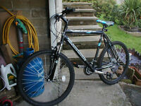 Claud butler reactive 18 speed mountain bike, (as new.)