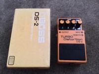 BOSS DS2 Distortion guitar pedal