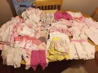 0-3 month baby girls Spring/summer clothes