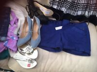 Brand new clothes with labels size 8-10 and shoes size 6