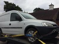 Breaking Vauxhall combo