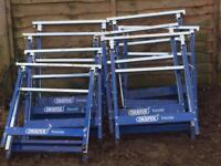 Builders trestles band stands