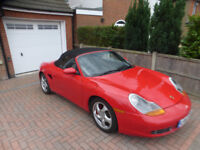 Porsche Boxster S 3.2 Genuine Low Milage with FSH+MOT to April 2019 £8995