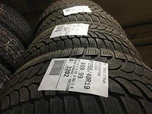 255/40/19 Bridgestone Blizzak *Winter Tires*