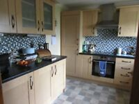 Kitchen Units - very good condition - light wood - available early November