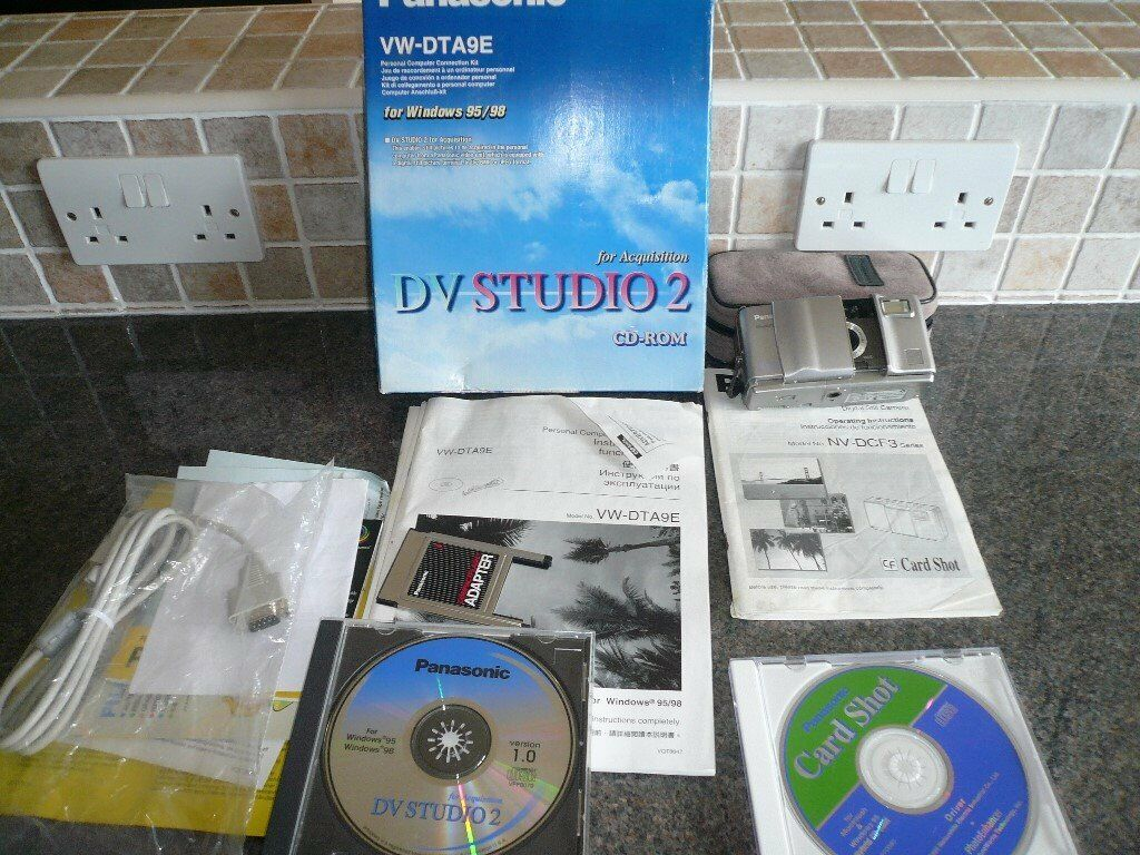 Panasonic Digital Camera & DV Studio 2