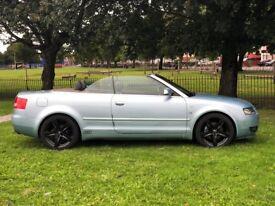 2003 AUDI A4 SPORT 2.0 V6 160 BHP * CONVERTIBLE *NEW MOT *