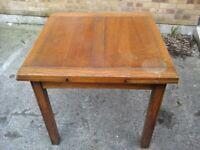 1950's extending oak dining table