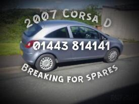 1.3 cdti Corsa D, BREAKING FOR PARTS
