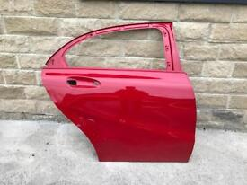 Genuine Mercedes A Class A176 Drivers Side Rear Door 2014-2015-2016-2017-
