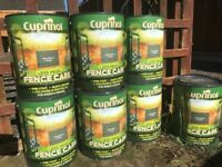 NEW Cuprinol Fence Stain/Paint Woodland Green 5L X7