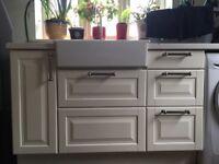 Ikea kitchen units plus oven