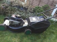 Qualcast Mower with Briggs and Stratton Engine