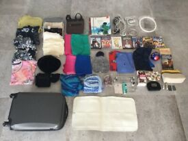 Mixed items car boot sale house clearance job lot. Home, clothing, sport, electrical, jewellery,