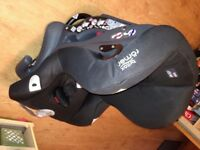 "Britax Romer ""First Class Plus"" baby car seat, 0kg to 18kg, like new, barely used"