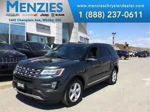2016 Ford Explorer XLT, GPS, Bluetooth, 4x4, 3rd Seat, Clean Car