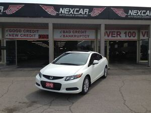 2012 Honda Civic EX-SR C0UPE 5 SPEED A/C SUNROOF ONLY 86K
