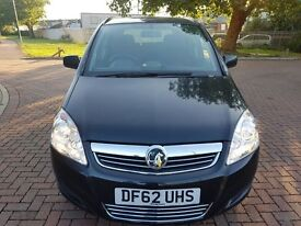 2013 VAUXHALL ZAFIRA EXCLUSIVE, 1.6,PETROL32450 MILES, MOT,FULL SERVICE HISTORY, EXCELLENT CONDITION