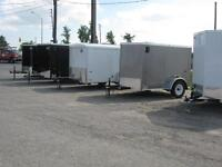 UTILITY TRAILERS, ENCLOSED CARGO TRAILERS, OPEN TRAILERS