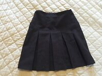 2 Girl's Black School Skirts Size 8 Years