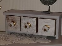 Gorgeous Shabby Chic Style Jewellery/Trinket Drawers Perfect Mothers Day GiftBrand New and Boxed