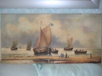 Oil Painting from Germany by the Artist Gagel, with Provenance