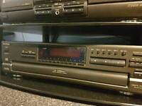 Technics pd 687 5 disk cd player in good condition