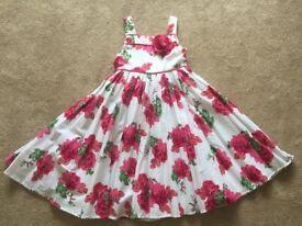 Monsoon summer dress 7-8 yrs