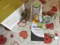 VonShef Electric Food Slicer & Mini Chopper, Multi-Functional, 150W,